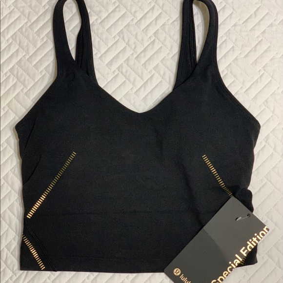 Lululemon 🍋 align tank top special edition black